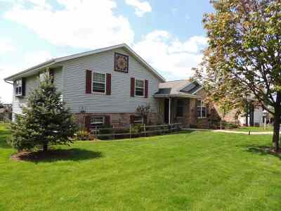 Rock County Single Family Home For Sale: 12820 W North Avon Townline Rd