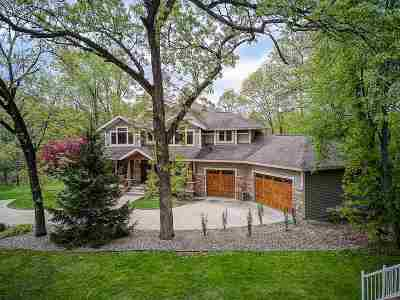 Jefferson County Single Family Home For Sale: W8235 Elm Point Rd