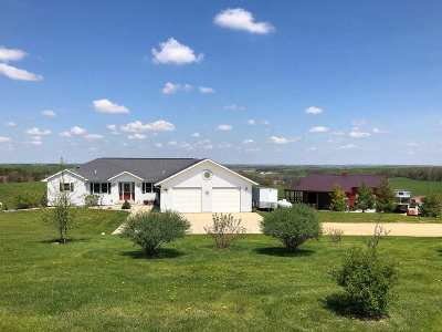 Green County Single Family Home For Sale: W4328 County Road Ff