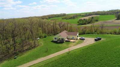 Mount Horeb Single Family Home For Sale: 1863 Lewis Rd