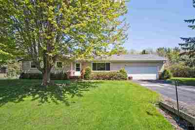Dane County Single Family Home For Sale: 3808 Sunhill Dr