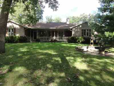 Beloit Single Family Home For Sale: 9500 Cleophas Rd