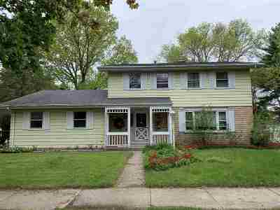 Madison Single Family Home For Sale: 622 Harmony Hill Dr