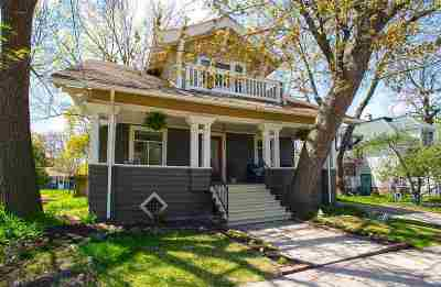 Madison Single Family Home For Sale: 328 N Baldwin St