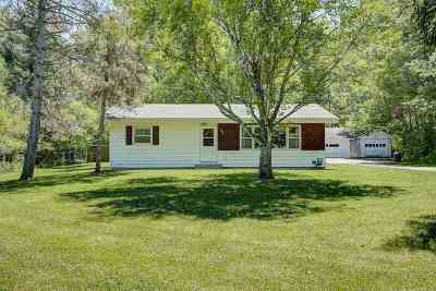 Edgerton Single Family Home For Sale: 102 E Cox Rd