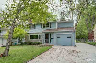 Madison Single Family Home For Sale: 2813 Mason St