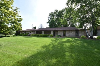 Iowa County Single Family Home For Sale: 3289 Lehner Rd