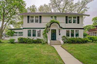 Madison Single Family Home For Sale: 2105 West Lawn Ave