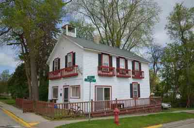 Green County Single Family Home For Sale: 100 Hotel St