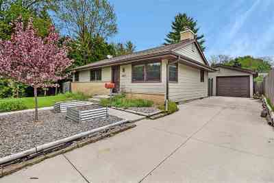 Madison Single Family Home For Sale: 4617 Judy Ln