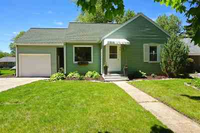Monona Single Family Home For Sale: 4811 McKenna Rd