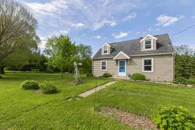 Iowa County Single Family Home For Sale: 4162 County Road H