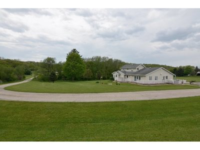 Mount Horeb Single Family Home For Sale: 2160 Hwy 92