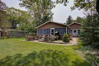Lodi Single Family Home For Sale: W11392 Bay Dr