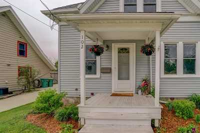 Mount Horeb Single Family Home For Sale: 102 S 8th St