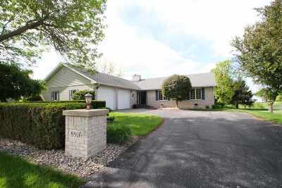 Sauk City Single Family Home For Sale: 8916 Schoon Rd