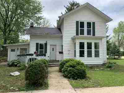 Green County Single Family Home For Sale: 1301 E 2nd Ave