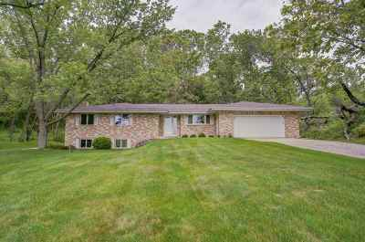 Mount Horeb Single Family Home For Sale: 3221 County Road P