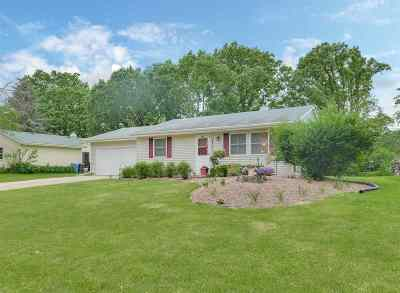 Fitchburg Single Family Home For Sale: 5214 Meadowood Dr