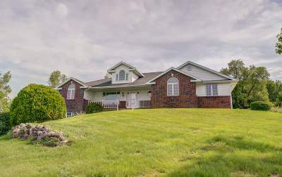 Green County Single Family Home For Sale: W1940 County Road C