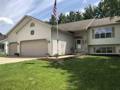 Lodi Single Family Home For Sale: W10545 River Rd