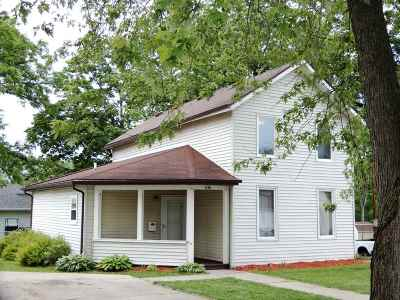 Edgerton Single Family Home For Sale: 106 E Rollin St