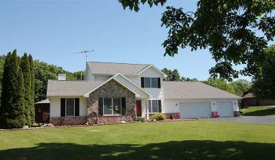 Janesville Single Family Home For Sale: 6646 W Wood Ridge Dr