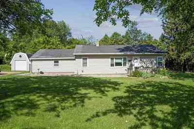 Pardeeville Single Family Home For Sale: W6304 Patchin Rd