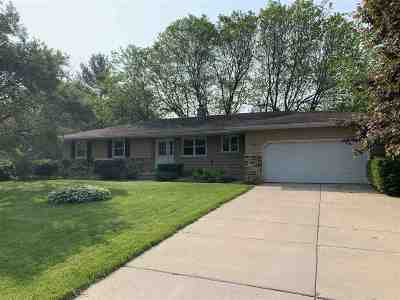 Deforest Single Family Home For Sale: 505 Wild Plum Dr