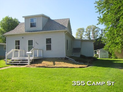 Platteville Single Family Home For Sale: 355 Camp St