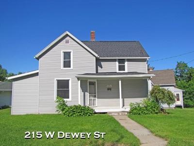 Platteville Single Family Home For Sale: 215 W Dewey St