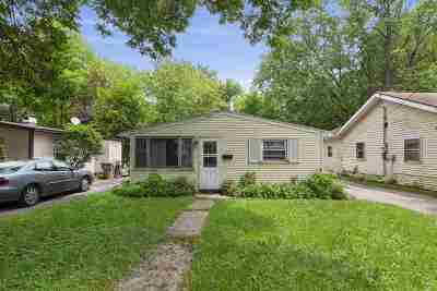 Madison Single Family Home For Sale: 1829 Baird St