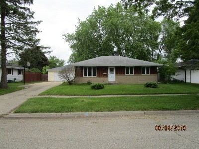 Janesville Single Family Home For Sale: 1504 Roosevelt Ave