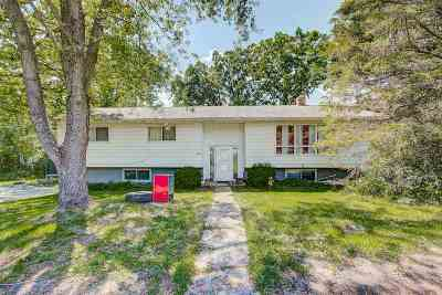 Janesville Single Family Home For Sale: 4865 N Harmony Town Hall Rd