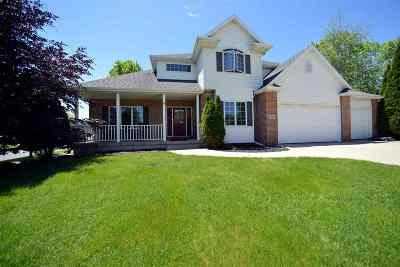 Sun Prairie WI Single Family Home For Sale: $449,000
