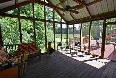 Columbia County Single Family Home For Sale: W8202 Kent Rd
