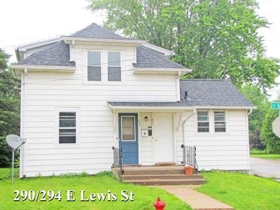 Platteville Multi Family Home For Sale: 290/294 E Lewis