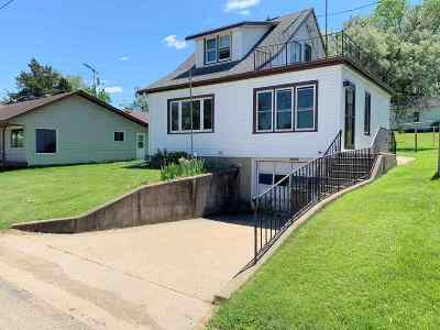 Green County Single Family Home For Sale: W2939 Mill St
