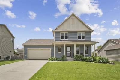 Deforest WI Single Family Home For Sale: $320,000