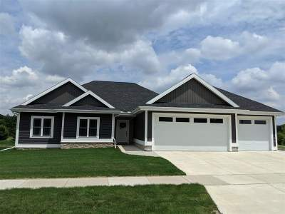 Deerfield WI Single Family Home For Sale: $395,000