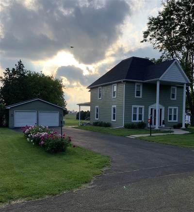 Deforest Single Family Home For Sale: 7761 Clinton Rd