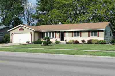 Rock County Single Family Home For Sale: 2202 N Pontiac Dr