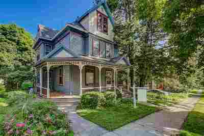 Madison Single Family Home For Sale: 1716 Jefferson St