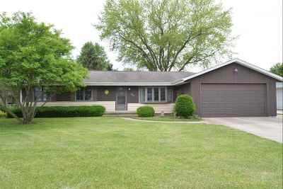 Rock County Single Family Home For Sale: 2522 Lucerne Dr