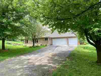 Verona Single Family Home For Sale: 3453 Mound View Rd