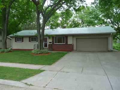 Rock County Single Family Home For Sale: 818 Sweeney Rd