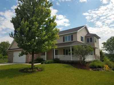 Verona WI Single Family Home For Sale: $468,500
