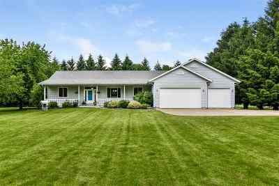 Dane County Single Family Home For Sale: 6877 Norway Rd