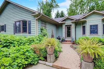 Rock County Single Family Home For Sale: 8839 N Cemetery Rd