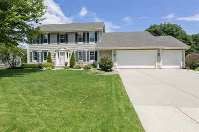 Fitchburg Single Family Home For Sale: 5850 Scarlet Dr